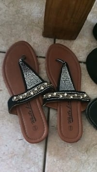 Pair of brown leather sandals Robertsdale, 36567