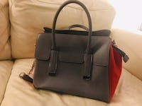 women's gray leather tote bag Winnipeg, R3V 1R2