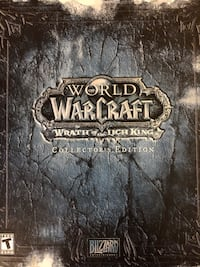 World of Warcraft (Wrath of the Lich king) collectors edition Toronto, M2K