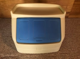 Little Tykes Toy Chest Blue/White