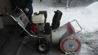 gray, beige and red snow blower Calgary, T2L