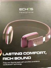 ECHOS bluetooth headphones in purple Brooklyn, 11216