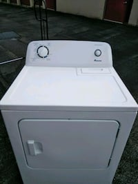 white front-load clothes dryer Silver Spring, 20906