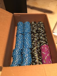 300 Denominated Poker Chips