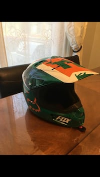 Helmet for ATV and motorcycle