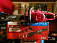 Craftsman electric chain saw  Anderson, 29625