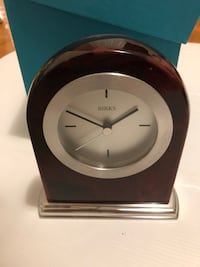 HUGE Birks set Clock,Olympic pin, notebook and tote