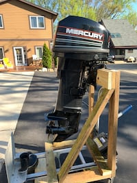 Mercury Outboard Long 25hp Electric Start 1994 Completely Rebuilt 2015