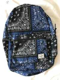 black and white floral backpack North Bethesda, 20852