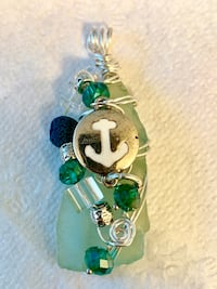 Authentic Sea Glass Jewelry for sale. Pendants are $20-$30 Rings are $15 Venice, 34285
