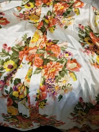 Floral bridal robe Morinville, T8R 2P2
