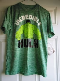 Brand new boys hulk shirt