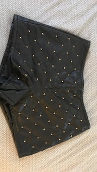 studded black leather shorts Sunrise, 33313