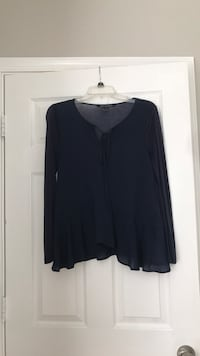 EUC Navy Flowing Blouse Rockville, 20854