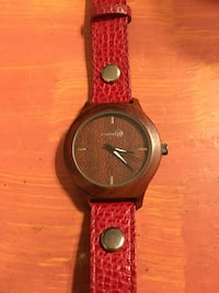 Real Wood - Earth Brand Watch! Edmonton, T6E 2S5
