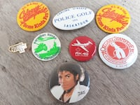 Michael Jackson Button from the 80s. $5 Firm... Calgary
