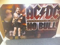 ACDC factory Sealed hard poster London, N6G 3G3