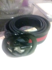 black and red Gucci belt Southfield, 48075