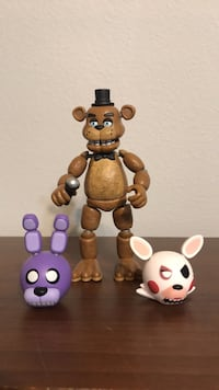 Asorted FNAF toys Tomball, 77375