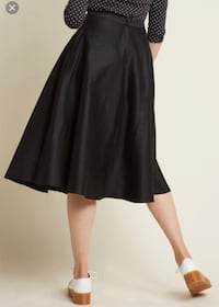 Collectif pin up swing skirt
