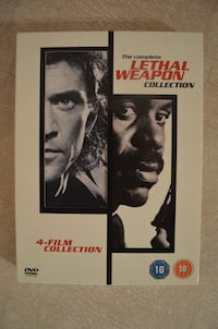 LETHAL WEAPON THE COMPLETE 4 DVD COLLECTION