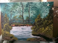 Original Oil Painting signed by Artist Mississauga, L5E 1G8