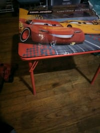 red and black plastic Table Hayward, 94545