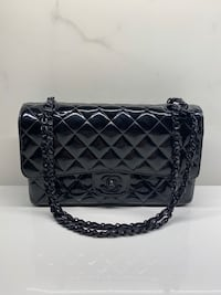 Authentic Chanel So Black in Patent Leather Toronto, M4G 0A9