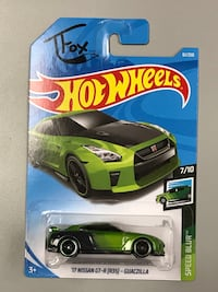 Hot Wheels Nissan Skyline GTR R35  (TFox Edition)