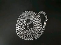 Stainless steel Franco chain Montreal, H2H