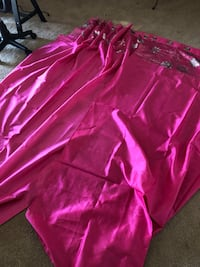 4 pink panel curtains  Kissimmee, 34746