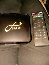 Infinity Pro 4K streaming box with remote control Joliet, 60436