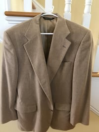 Patrick. James suit coat.   100% cashmere
