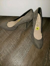 Jessica Simpson gray suede pumps size 9 Indian Head, 20640