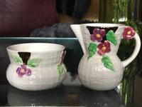 Wade heath England,Cream and sugar bowls Toronto, M4A 1A2