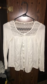 White button up size xsmall