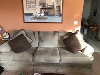 Used Leather Couch And Sofa By Ashley Furniture For Sale