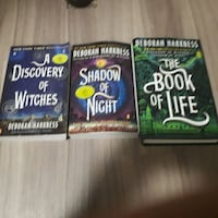 A discovery of witches series  Guelph, N1E 6M2