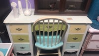 Shabby loft desk with chair Clearwater, 33765
