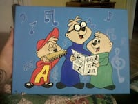 Alvin and the chipmunks painting  Manchester, 03102