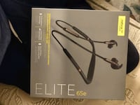 Jabra elite 65e  noice cancellations headphones