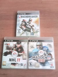 PS3 NHL .MADDEN.BACKBREAKER