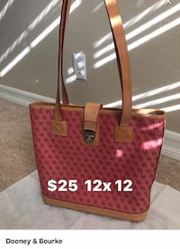 brown and pink leather tote bag Las Vegas, 89129
