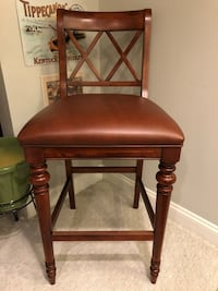 Leather Barstool - Ethan Allen