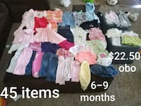 6-9 month baby girl clothes Papillion, 68046