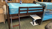 With Mattress!! Loft bed No credit needed!! Only 5$ down gets you delivered!! #853