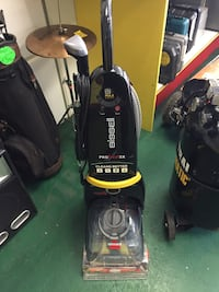 black and red Bissell upright vacuum cleaner Temple Hills, 20748