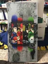 Justice League 4 Character Large Canvas Wall Hanging Sioux Falls, 57108
