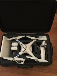 white quadcopter drone with remote Glenwood, 21738