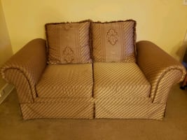 Sofa - good condition. 70x34x27 inches. Pick up only. Moving out sale!